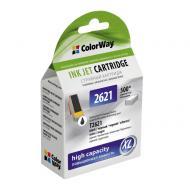 Совместимый картридж ColorWay 26XL (CW-EPT2621) (Epson XP600/ 605/ 700) Black