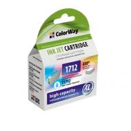 Совместимый картридж ColorWay (CW-EPT1712) (Epson XP-33/ 103/ 203/ 207/ 303/ 306/ 403/ 406) Cyan