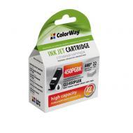 ����������� �������� ColorWay PGI-450 (CW-CLI-450BK) (CANON Pixma iP7240/ MG5240/ MG5540/ MG6340/ MG6440/ MG7140/ MX924) Black