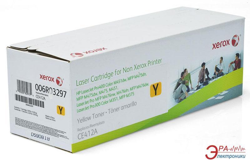 Совместимый картридж Xerox (006R03297) (CE412A HP375/ 475/ 351/ 471) Yellow