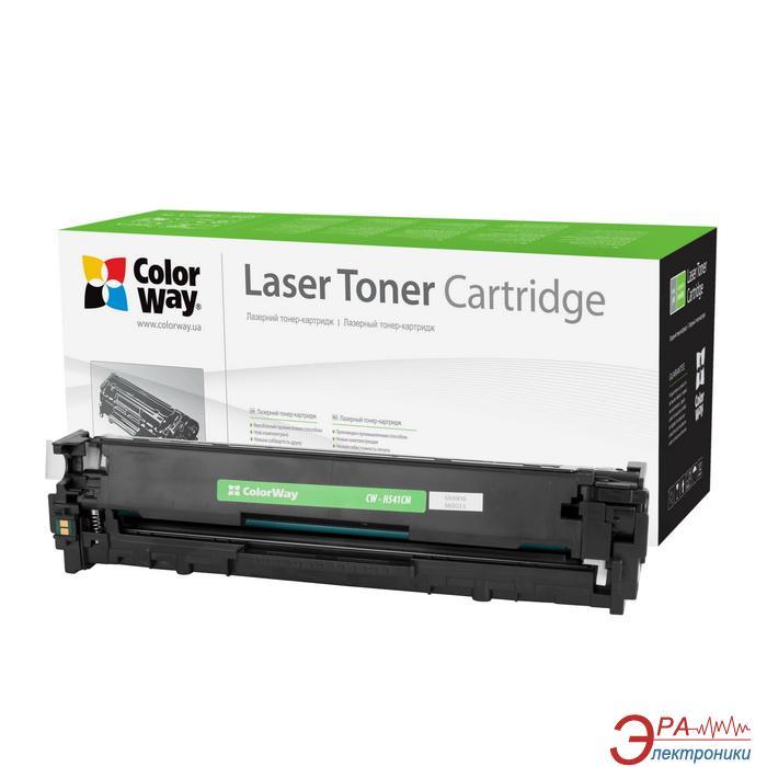 Картридж ColorWay CW-H541CM (HP CLJ CP1215/ CP1515 CC541A/ Canon 716) Cyan