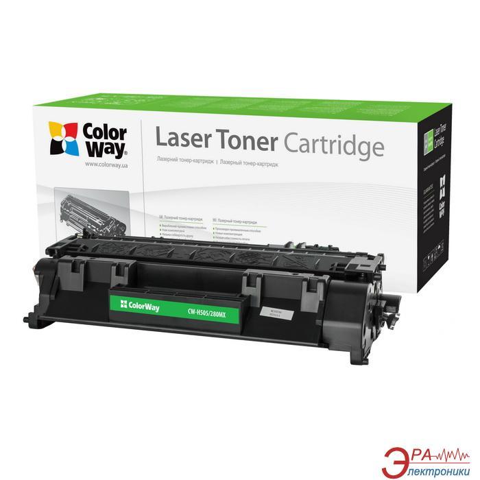 Картридж ColorWay CW-H505/280MX (HP LJ M425DN/ 425DW CF280X) Black