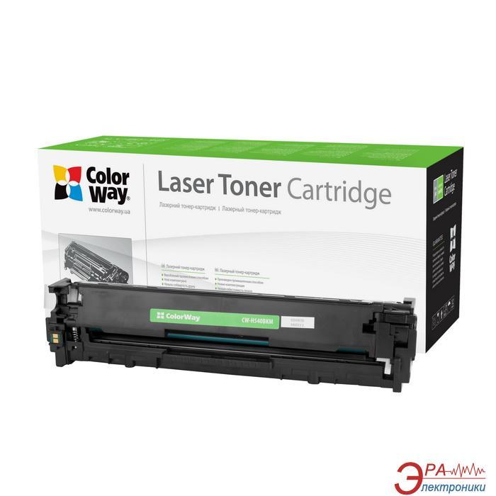 Совместимый картридж ColorWay CW-H540BKM (HP CLJ CP1215/CP1515 CC540A/ Canon 716) Black