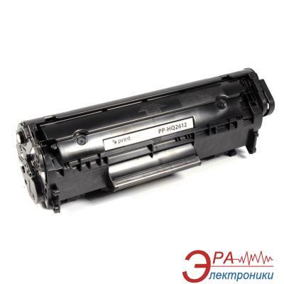 Совместимый картридж PrintPro PP-HQ2612 (HP LJ 1010/ 1015/ 1022 Q2612A) Black