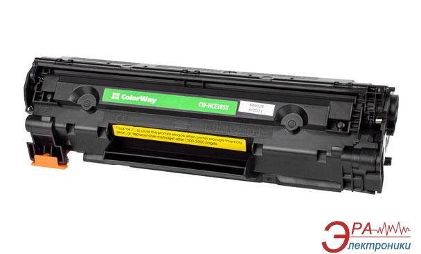 Совместимый картридж ColorWay CW-H285MX (HP LJ P1102 (CE285X) / Canon 725) Black