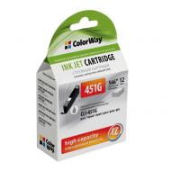 Совместимый картридж ColorWay (CW-CLI-451G) (PIXMA MG6340/ 7140/ CLI-451) Grey