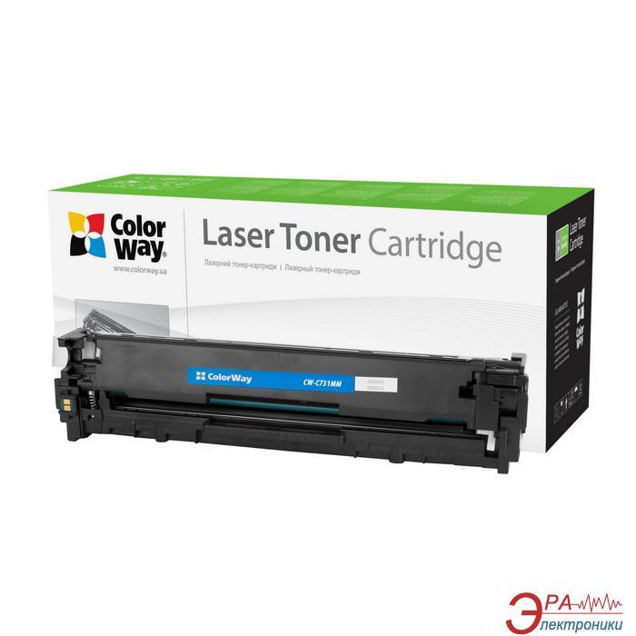 Совместимый картридж ColorWay (CW-C731MM) (LBP-7100Cn/ 7110Cw Canon 731/ HP CF213A) Magenta