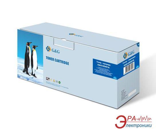 Совместимый картридж G&G (G&G-CE401A) (HP CLJ M551/ M570/ M575) Cyan