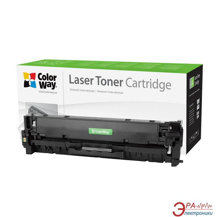 Совместимый картридж ColorWay CW-C718BKM (CANON 718 /HP CC530A/ LBP-7200/MF-8330/8350) Black