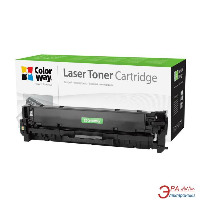 Совместимый картридж ColorWay CW-C718CM (CANON 718 /HP CC531A/ LBP-7200/ MF-8330/ 8350) Cyan