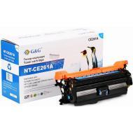 Совместимый картридж G&G (G&G-CE261A) (HP CLJ CP4025/ 4525) Cyan