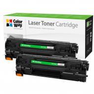 Совместимый картридж ColorWay CW-C725FM (CANON 725 LBP6000/ MF3010 Universal) DUAL PACK Black