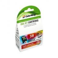 Совместимый картридж ColorWay CW-CCL38 (CANON CL-38 color) (C, M, Y)