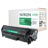 Совместимый картридж Patron PN-12A/703GL (Canon LBP-2900/ 3000/ HP LJ 1010/ 1015/ 1020/ 1022/ 3015/ 3030/M1005/ M1319f (Canon 703/ Q2612A) Black