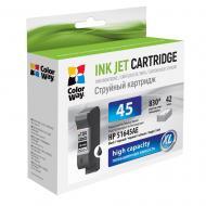 Картридж ColorWay CW-H45B (HP DJ 930C/ 950C/ 970C (51645AE) Black