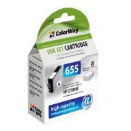 Совместимый картридж ColorWay CW-H655B (HP DJ 4615/ 4625/ 3525/ 5525/ 6525 (CZ109AE) Black