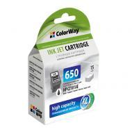 Совместимый картридж ColorWay CW-H650XLB-I (HP DJ 2515/ 3515 (CZ101AE) Black