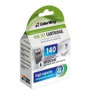 Совместимый картридж ColorWay CW-H140XL-I (HP C4283/ 4483/ 4583/ 5283/ 5363/ J5783/ 6413/ DJ D4363 (CB336HE) Black