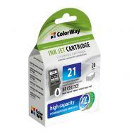 Совместимый картридж ColorWay CW-H21XL-I (HP DJ 3920/ PSC1410 (C9351CE) Black