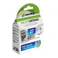 Совместимый картридж ColorWay CW-H27XL-I (HP DJ 332x/342x (C8727AE) Black
