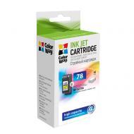 Совместимый картридж ColorWay CW-H78C (HP DJ 930C/ 950C/ 970C (C6578D) (C, M, Y)