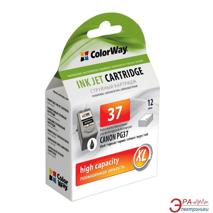 Картридж ColorWay CW-CPG37 (Canon Pixma iP-1800/2500 (PG-37) Black