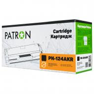 Совместимый картридж Patron PN-124AKR (HP LJ 1600 / COLOR LJ 1600 / COLOR LJ 2605 / COLOR LJ CM1015 / COLOR LJ CM1017 / Canon i-SENSYS LBP5000/ 5100) Black