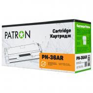 Совместимый картридж Patron PN-36AR (HP LJ P1505 / LJ M1120 / LJ M1522N) Black