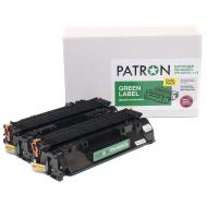 Совместимый картридж Patron PN-80ADGL (HP LJ CF280A) DUAL PACK Black