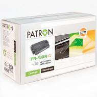 Совместимый картридж Patron PN-53XR (HP LaserJet P2014 / LaserJet P2015 / LaserJet P2015x / LaserJet M2727NF) Black