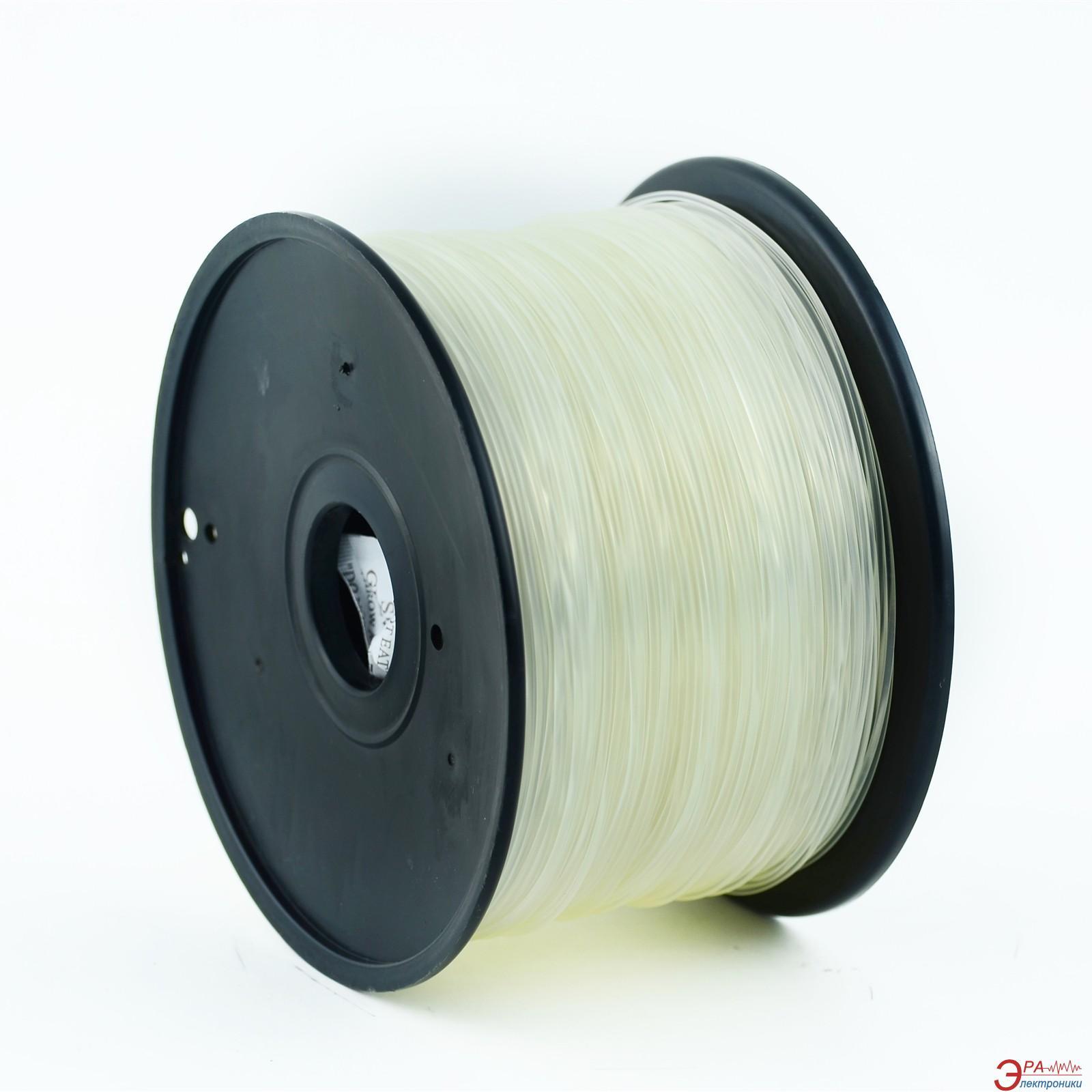 ABS-пластик Gembird 1.75mm Transparent 1kg (3DP-ABS1.75-01-TR)