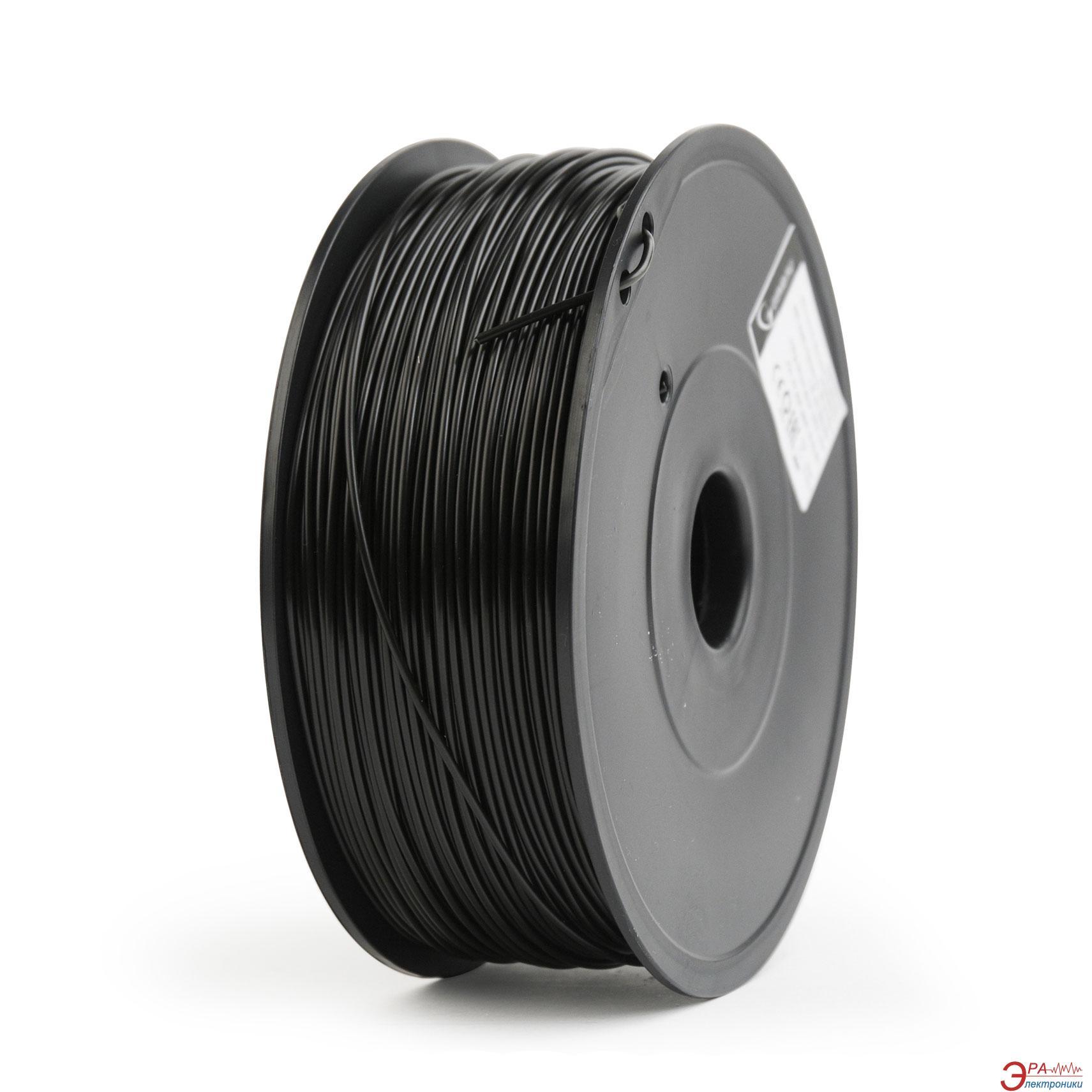 ABS-пластик Gembird 1.75mm Black 0.6kg (FF-3DP-ABS1.75-02-BK)