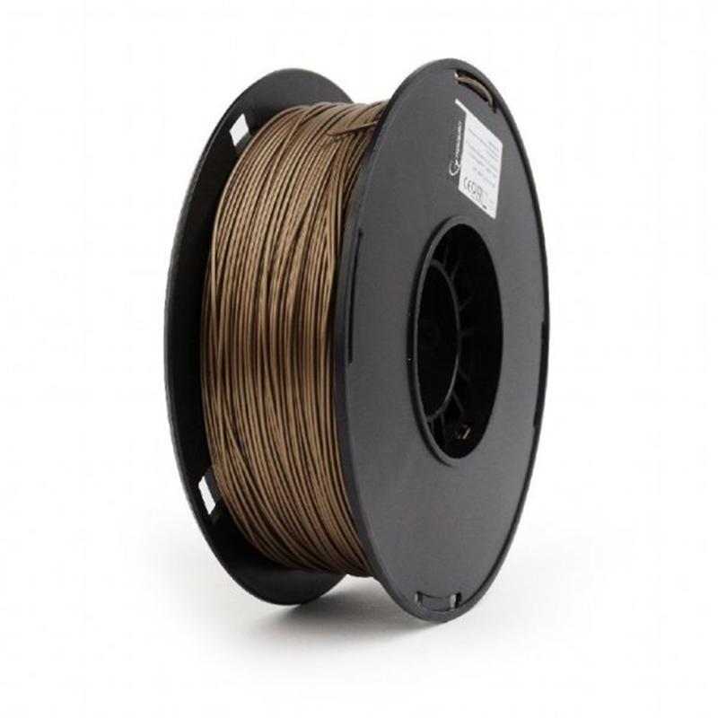 PLA-пластик Gembird 1.75mm, Brown, 1kg (3DP-PLA1.75-02-BR)