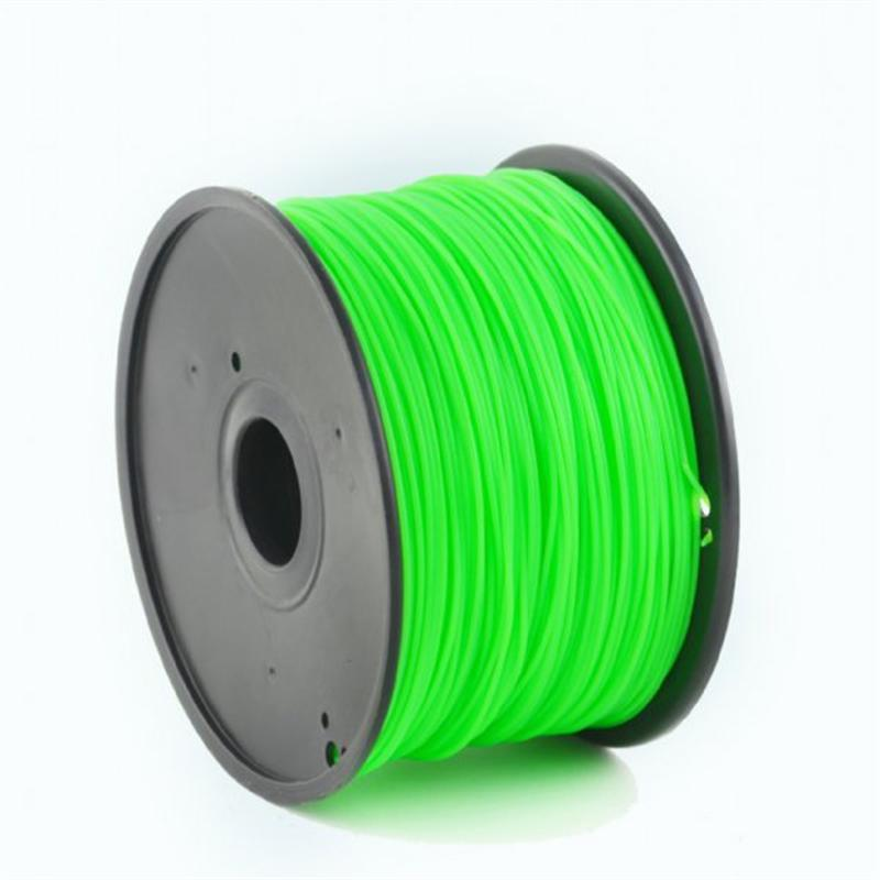 ABS-пластик Gembird 1.75mm, glowing green, 1kg (3DP-ABS1.75-01-LG)