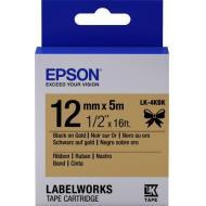 Картридж Epson LK4KBK Ribbon Blk/Gold (C53S654001)