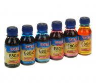 Комплект чернил WWM Epson L800 (E80SET-2) 6 x 100 мл (г)