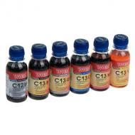 Комплект чернил WWM Canon PGI520/ CLI521 BP/ B/G/C/M/Y SET (C12SET6-2 / C13SET6-2) 6 x 100 мл (г)