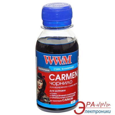 Чернила WWM Canon UNIVERSAL CARMEN Cyan (CU/C-2) 100 мл (г)