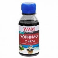 Чернила WWM Canon GI-490 Black Pigmented (C49/BP-1) 100 мл (г)