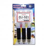 Заправочный набор WWM Canon CLI-521 Black (IR3.C11/B) 3 x 20 мл (г)