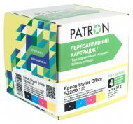 Комплект перезаправляемых картриджей Patron (CIR-PN-ET128-042) Epson (S22/SX125)