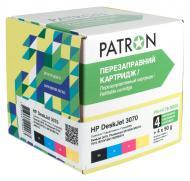 Комплект перезаправляемых картриджей Patron (CIR-PN-H178-050) HP (DeskJet 3070)