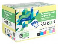 Комплект перезаправляемых картриджей Patron CIR-PN-ET048-002 (PN-048-002) Epson (R200/ 220/ 300/ 320/ 340/ RX500/ 600)