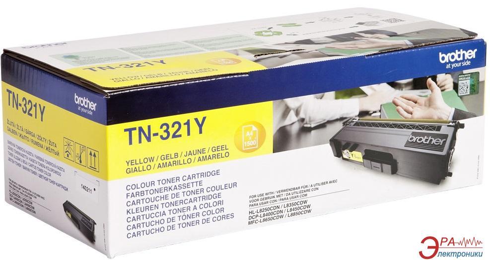 Картридж Brother (TN321Y) (HL-L8250CDN) Yellow