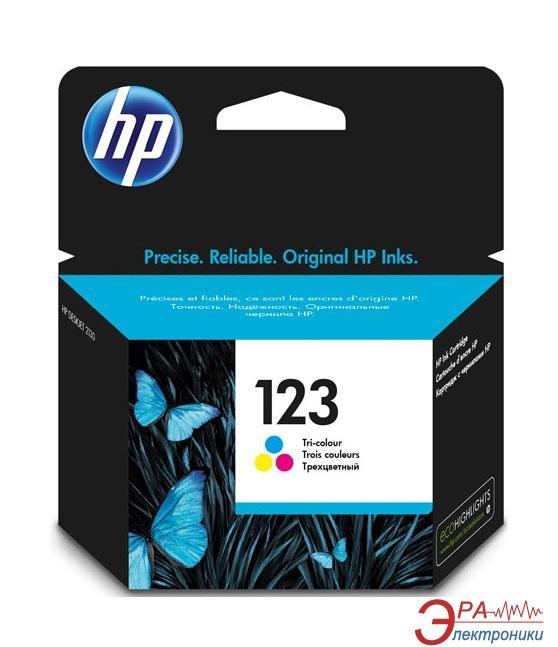 Картридж HP No.123 (F6V16AE) (DJ 2130) Color (C, M, Y)