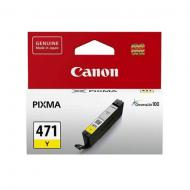 Картридж Canon CLI-471Y (0403C001) (PIXMA MG5740/ MG6840) Yellow