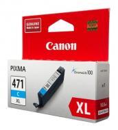 Картридж Canon CLI-471C XL (0347C001) (PIXMA MG5740/ MG6840) Cyan