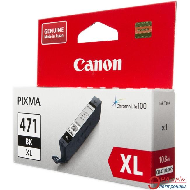 Картридж Canon CLI-471Bk XL (0346C001) (PIXMA MG5740/ MG6840) Black