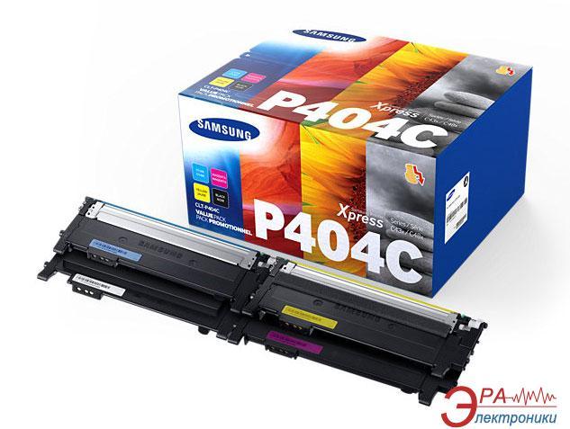 Картридж Samsung CLT-P404C (SL-C430 W/ 480W) Bundle (C, M, Y, Bk)