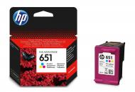 Картридж HP No.651 (C2P11AE) (DJ Ink Advantage 5575/ 5645/ OfficeJet 202) Color (C, M, Y)